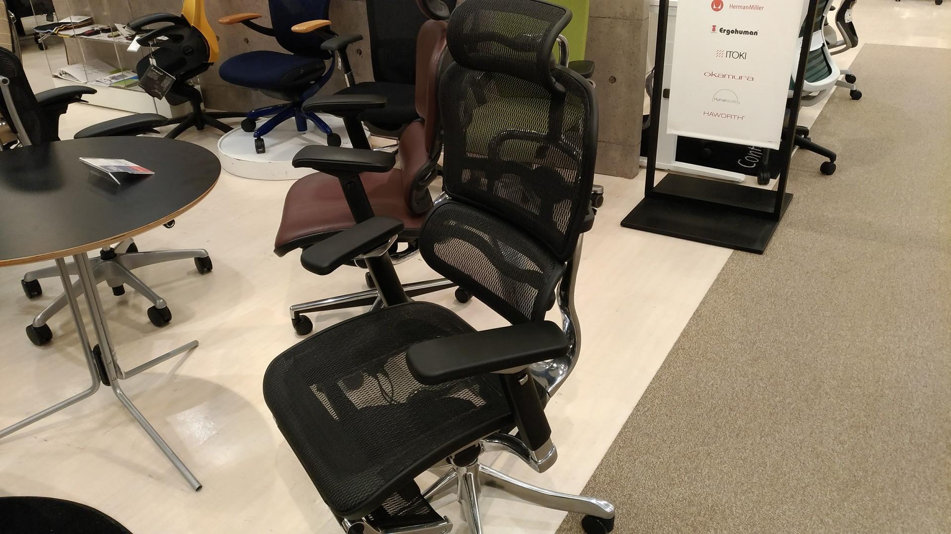 大塚家具で高級オフィスチェアを座りつくす 最高に良い椅子との出会い